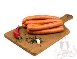 Extra spicy sausages