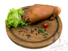 Ciolan de porc cu os afumat
