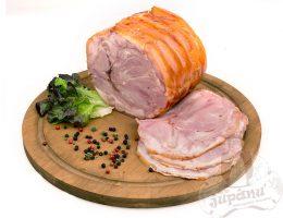 Pressed pork belly
