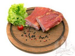 Smoked pork bacon