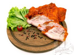 Goiter pork with paprika