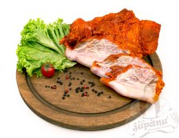 Goiter pork with paprika