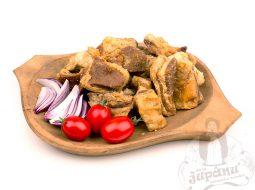 Pork greaves
